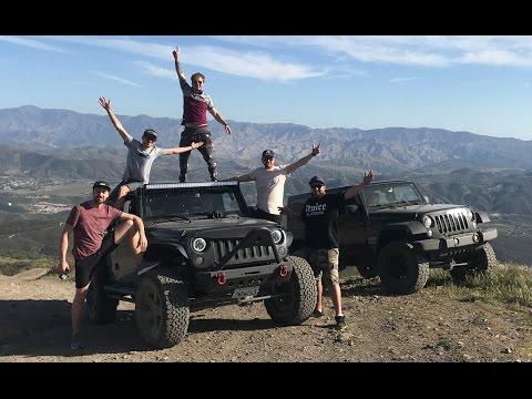 ЛУЧШИЙ ОФФРОАД в Калифорнии, ДИКИЙ обзор Jeep Wrangler, горное приключение с русскими в США