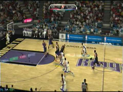 NBA 2K10 posts up on PSP for the first time in the its 2010 edition this se