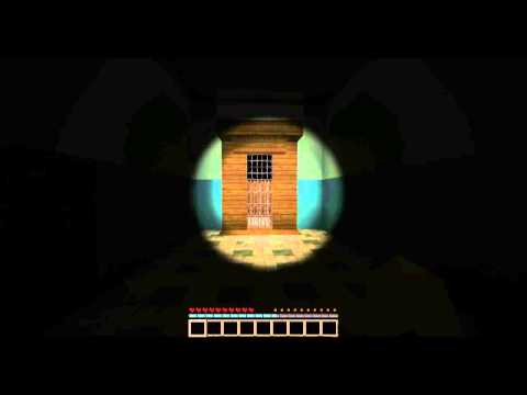 Minecraft horror map proof of concept
