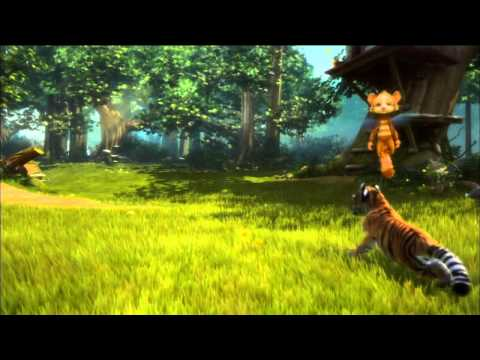 Kinectimals Xbox 360 Kinect Gameplay Video