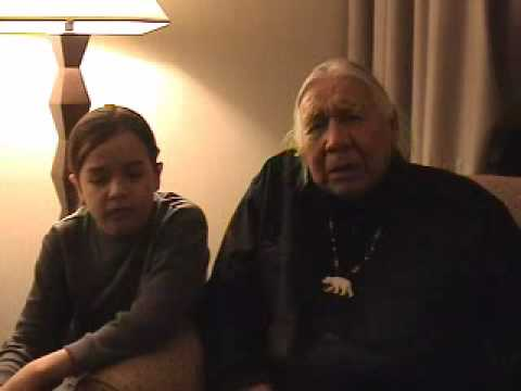 Floyd Red Crow Westerman Speaks ~ Let them eat Grass~