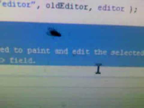 Согнать муху курсором мыши.