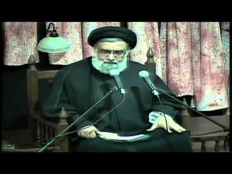 09 ''Riyazat (2) Fasting & (3)Silence  ''Sayid MUHAMMED RIZVI 9th  MUHARRAM 1437 A.H.