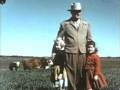 Lady Bird Johnson Home Movie #25: The Johnson Family at the LBJ Ranch, Fall-Christmas 1953