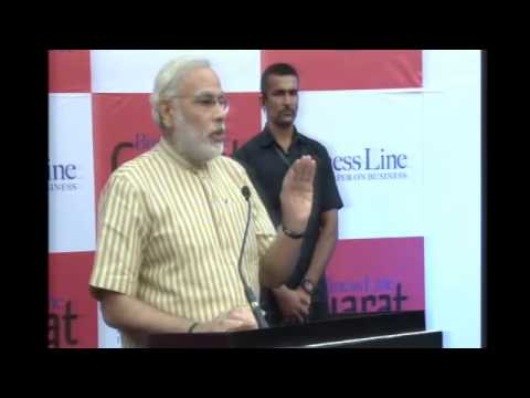 Shri Narendra Modi launches the Gujarat Edition of The Hindu Business Line in Ahmedabad