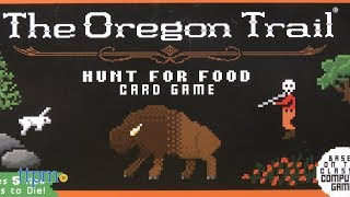 The Oregon Trail: Hunt for Food Card Game from Pressman