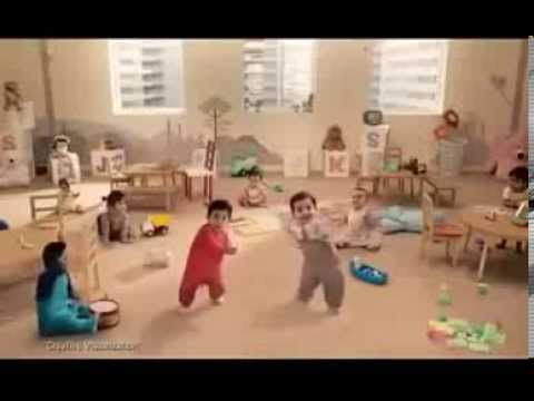 Cute Kit Kat Dancing Kids Tv Commercial video