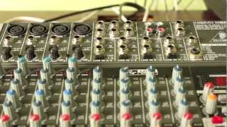 01. Behringer Xenyx Tutorial Part 1/2