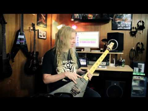Jeff Loomis talks about his new Schecter JLV7 Guitar