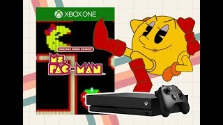 Ms Pac-Man - Xbox One Gameplay - Arcade Game Series