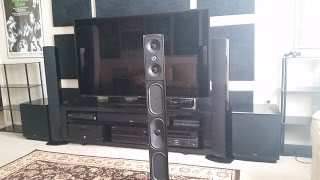 Home Theater Speakers With Built In Subwoofer? Yes or No? Definitive Technology