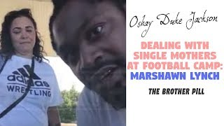 Marshawn Lynch and The Single Mother Football Camp Incident