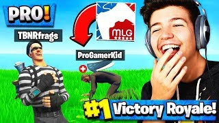 WE WON AGAINST a PRO PLAYER in Fortnite! ($20,000 Tournament with Lachlan)
