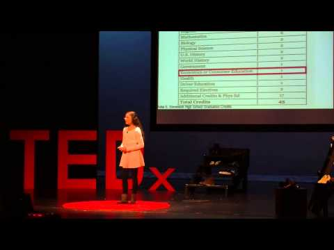Personal finance education in high school | Tanvee Patankar | TEDxYouth@LakeVilla