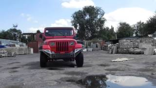 Jeep Wrangler YJ front bumper