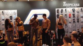 Fat Guy wins Abs competition at BodyPower 2016
