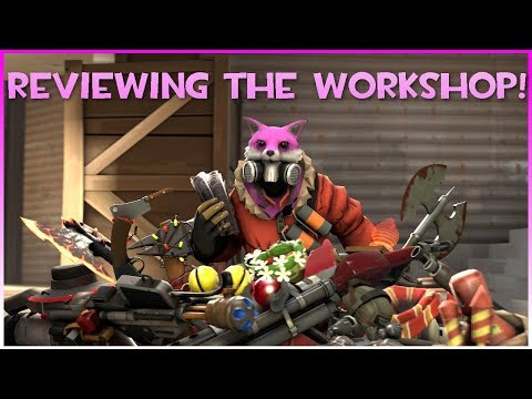 TF2: Reviewing Pyro's Workshop! (+War Paints & All Class)