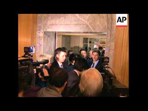 GERMANY: BERLIN: G7 FINANCE MINISTERS MEETING