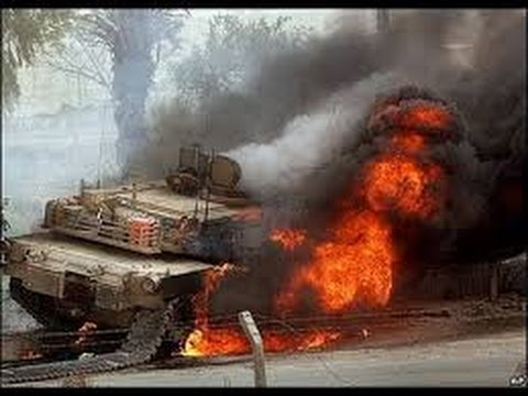 挑戰新聞軍事精華版--伊拉克陸軍M1坦克遭IS重擊