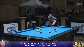 2017 US Bar Table Championships 8-Ball: Shane Van Boening vs Jesse Engel
