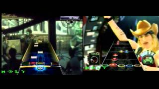 COMPARACIÓN BEFORE I FORGET:GUITAR  HERO 3 VS ROCK BAND 3 (GUITARRA)