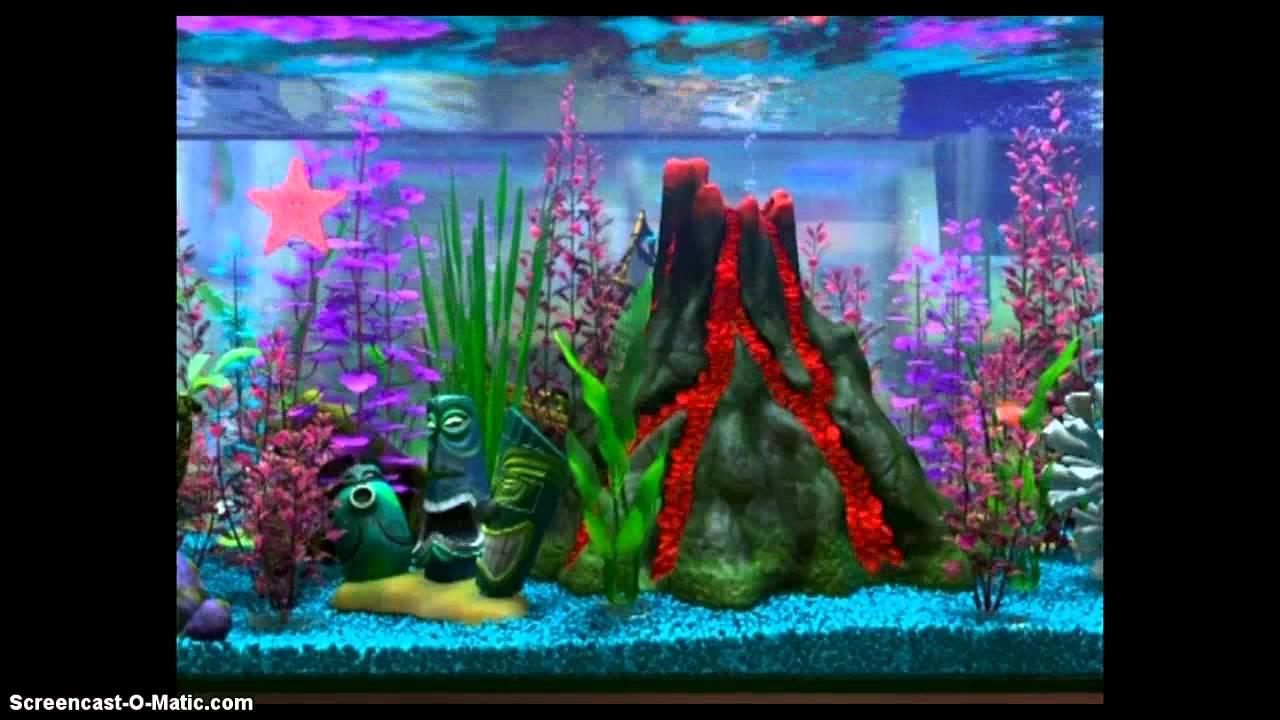 Finding Nemo - Virtual Aquariums (Disc 2) - YouTube