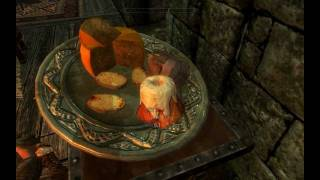 Skyrim - Never steal a sweet roll