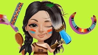 Sweet Baby Girl Summer Camp - Dress Up And Style Hair For Sweet Babay Girl - Fun Games For Girls