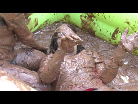 Chocolate Wrestling