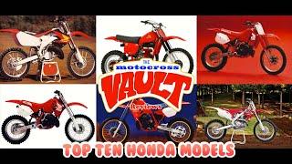 Top 10 Best Looking Honda Motocross Models