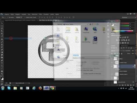 Como criar uma logomarca no photoshop cs6 cs go skins player
