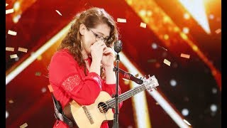 Mandy Harvey Deaf Singer With Original 39 Try 39 Gets Simon 39 S Golden Buzzer America 39 S Got Talent 2017