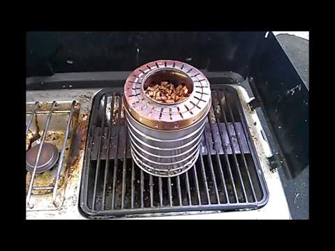 DIY Stainless Steel Wood Gas Stove for less then $20!