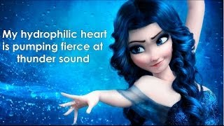 """WATER Elsa Frozen """"Let it Go"""" parody by Nim"""
