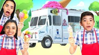 VIRAMOS SORVETEIROS !!! (Ice Cream Truck) - Só Por Causa