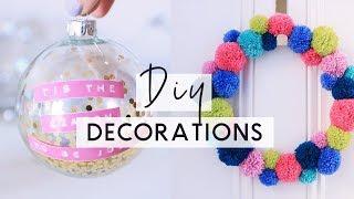 DIY Christmas Decorations 🎄 ❄️ Bright & Colourful Christmas Room Decor DIYs
