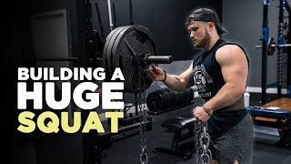 How I'm Building a Huge Squat | My New Powerbuilding Routine