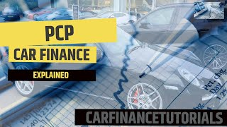 PCP Car Finance Explained