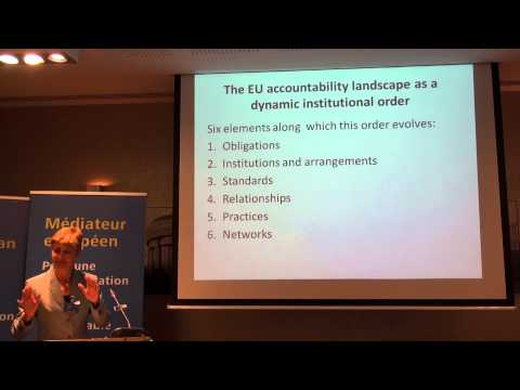 1 - Session 1 -  Democracy and accountability in the EU: the role of the European Ombudsman