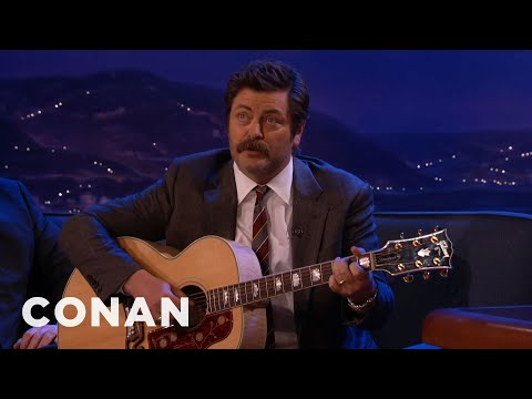 Nick Offerman Sings