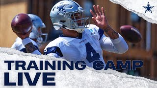Training Camp Live: Taking A Look At 7 On 7 | Dallas Cowboys 2019