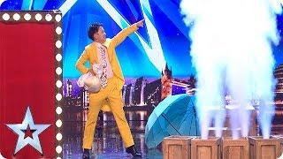 Download Song Wardrobe WIZARDS! Are these the QUICKEST costume changes of all time?! | Auditions | BGT 2018 Free StafaMp3