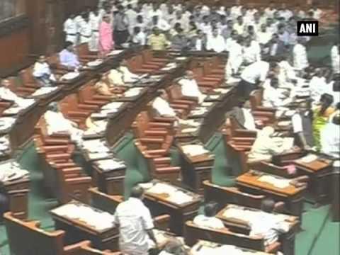 Uproar in Karnataka Assembly; Opposition demands CBI inquiry into DK Ravi's death