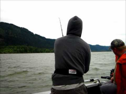 Columbia River Sturgeon Fishing in Portland Oregon