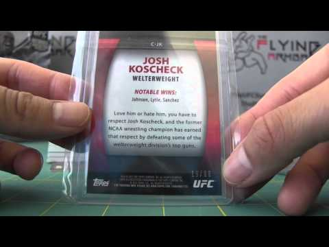 UFC Ebay Show Off - 5/1/15 - 2010-2012 Topps Knockout Parallels & Relics - Part 2