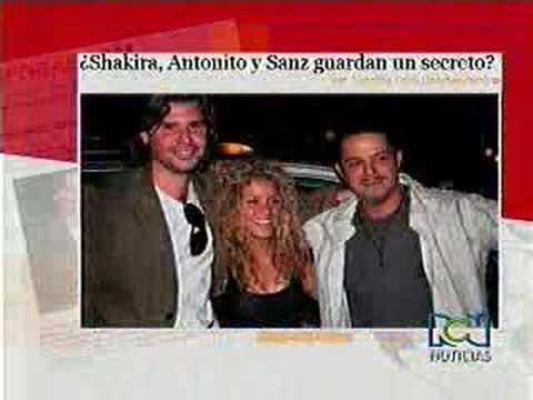 Escandaloso video implicaría a Shakira, su novio y Alejandro