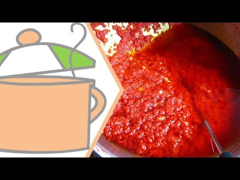 How to Fry Nigerian Tomato Stew | All Nigerian Recipes