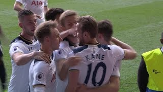Tottenham top Man United in White Hart Lane finale