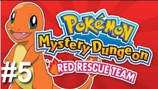 Pokmon Mystery Dungeon: Red Rescue Team Playthrough / Walkthrough with Ashh Part 5