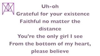 Justin Bieber All That Matters Lyrics